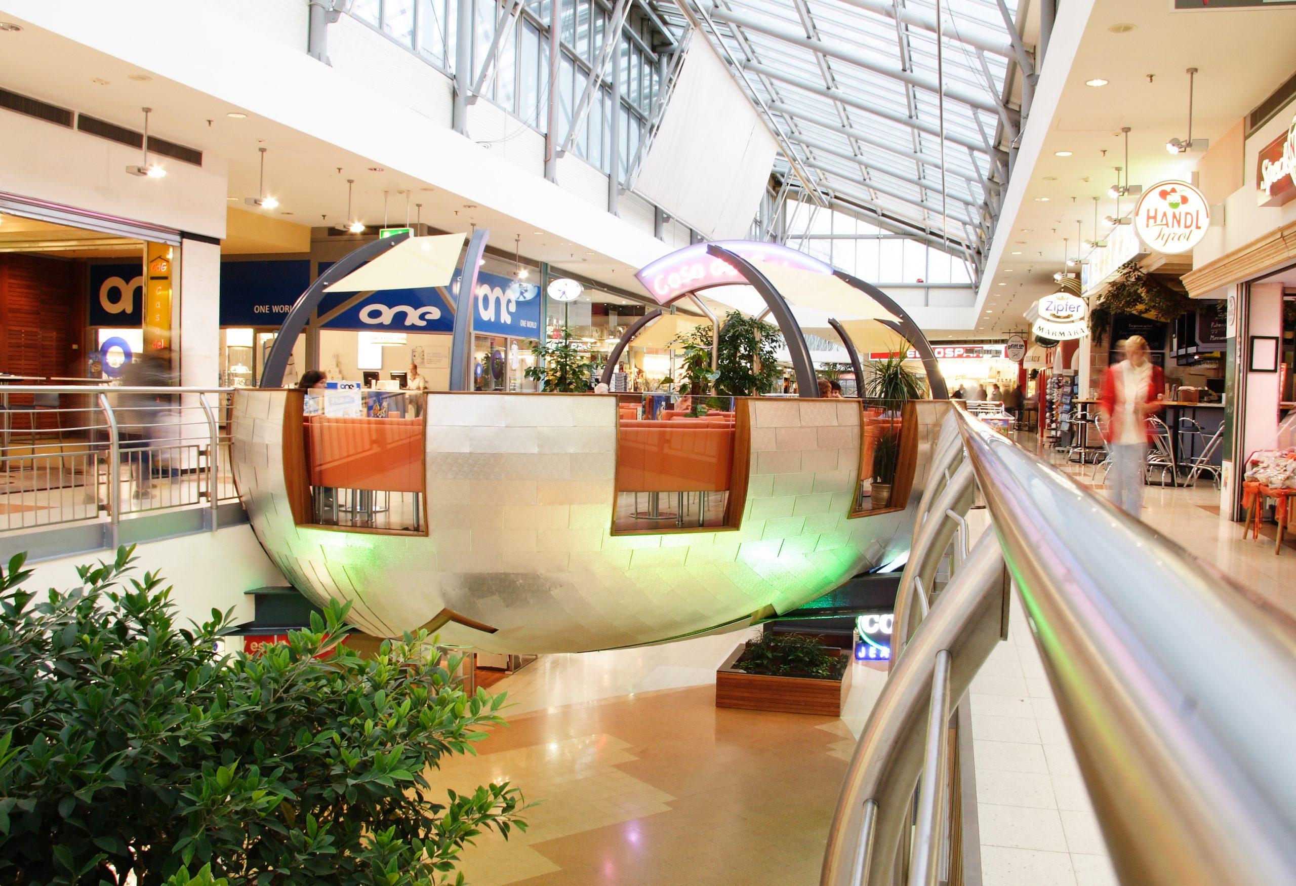 Mall Cafè, Traisenpark