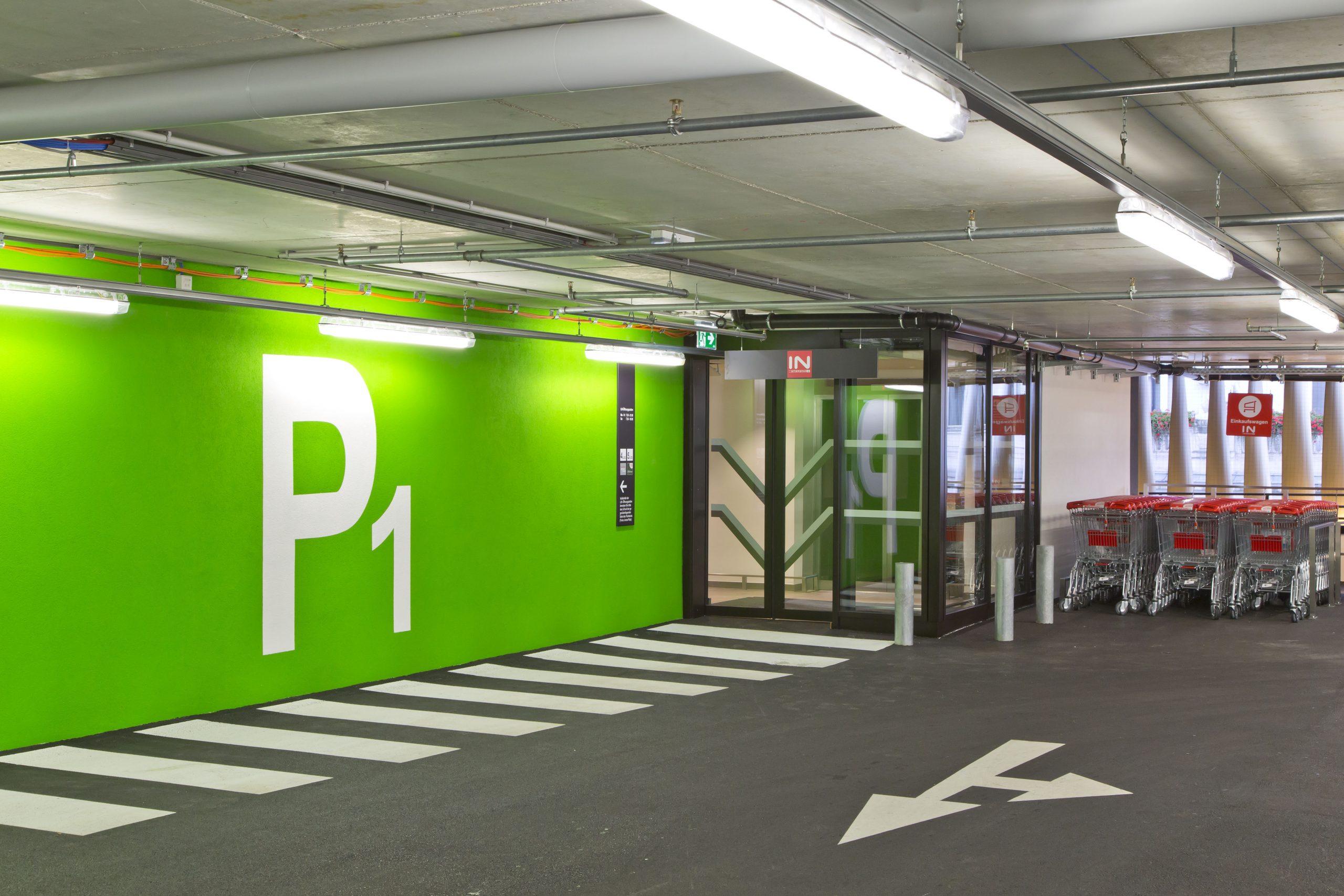 Interspar Florisdorf – Parkgarage