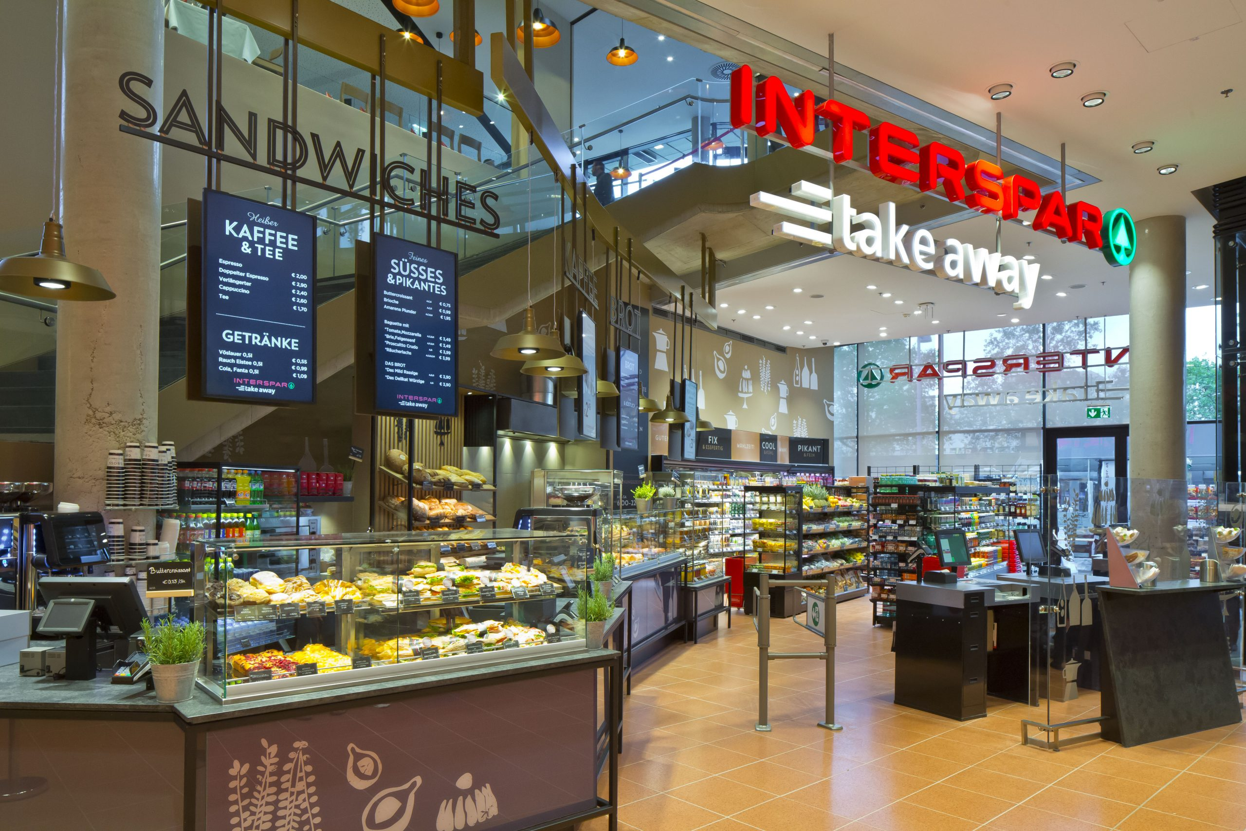 Interspar-Take away