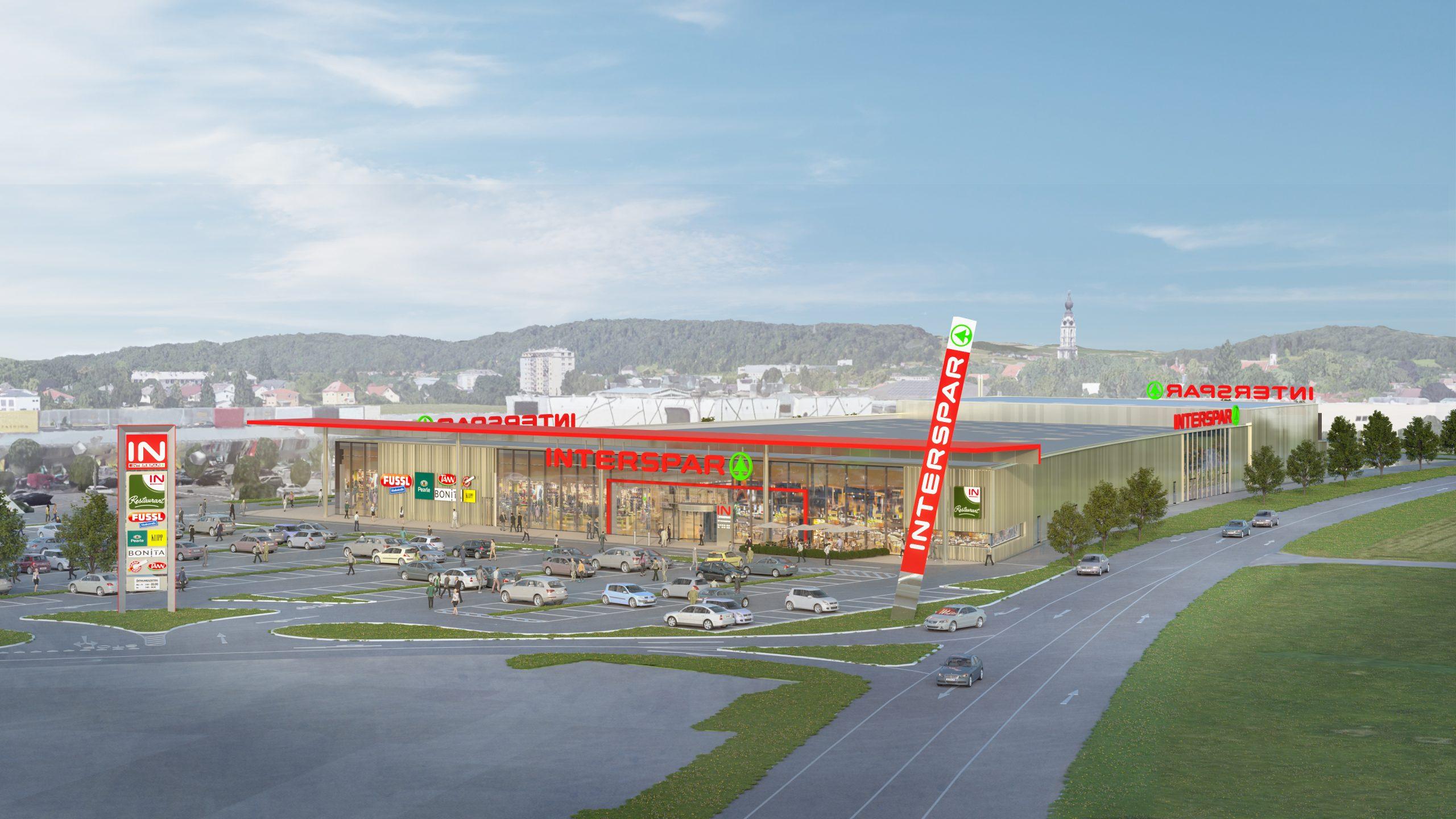 Interspar Braunau wird im Spätsommer 2020 eröffnet!